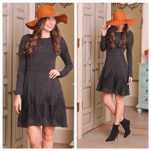LAST (M) Crochet Lace Dress